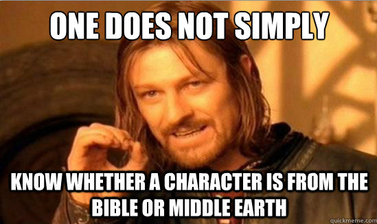 Bible-or-LOTR